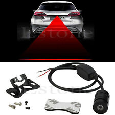 Anti Collision Rear-end Laser Tail Fog Light Auto Brake Parking Rear Lamp New