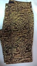 Takara Boutique Animal Print Girls Skinny Jeans Pants Size 10 Ships Free
