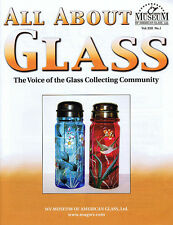 All About Glass 13-1: Victorian sugar shakers-Bryce Bros. barware-Crizzling-More