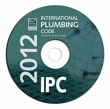 NEW 2012 International Plumbing Code IPC-Public Safety Regulations-CD eBook PDF