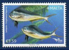 """Malta Mi. 1932** """"Euromed Postal - Fische im Mittelmeer"""" aus 2016"""