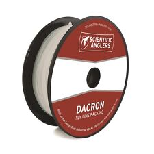 Scientific Anglers Dacron Fly Line Backing, 20lb / 100 yards, Color White, New