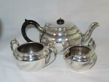 VICTORIAN SILVER PLATED BRITANNIA METAL EPBM Tea Set Barker Brothers 1890s