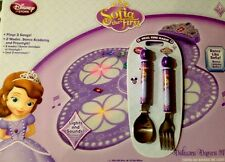 Sofia The First Dance Mat New With Tags & FREE Spoon & Fork Set Retails $6.95!