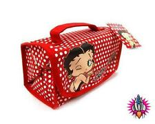 BETTY BOOP POLKA DOT WRAP MAKE UP CASE BAG NEW WITH TAGS