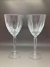 2 Waterford Marquis Large Water / Wine Glasses