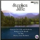 Jaffe Vol. 3 (Llewellyn, North Carolina Symphony) CD NEW