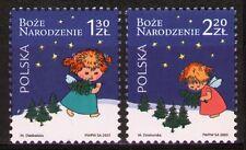 Poland 2005 Sc3807-08  Mi4225-26 3.00 MiEu  2v  mnh  Christmas