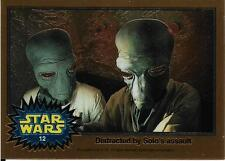 1999 Topps Star Wars Chrome Archives #12 Distracted By Solo's Assault