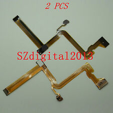 2PCS/ LCD Flex Cable For Panasonic SDR- H85 H86 H95 S45 S71 S50 GK Video Camera