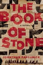 The Book of Stone by Jonathan Papernick terrorist thriller novel advp NEW