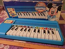 DISNEY BAND - Reed Organ w/ Box (Music Method: 7 Note, 7 Color) Bontempi (ITALY)