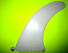 "9"" LONGBOARD SURFBOARD FIN 10"" CENTER BOX SUP STAND UP PADDLEBOARD FIN"