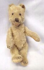 "RARE Antique 1920s-30s STEIFF Original Off White 10"" Teddy Baby Stuffed Bear"
