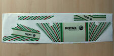 TONYKART RACER 401 EUROPEAN STYLE DD2 RADIATOR STICKER KIT - ROTAX - KARTING