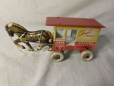 Vintage Marx Tin ToyTown Dairy - Milk Wagon And Horse   -  ETR