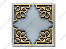 4 PACK x 38mm ORNATE WOODEN SHAPES WOOD WEDDING ALBUM SCRAPBOOK CARD DECORATION