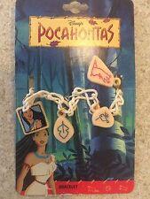 Vintage (Very Rare) Disney AAi Pocahontas Bracelet With Charms