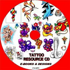 20,000 TATTOO GRAPHICS RESOURCE IDEAS, TUTORIAL GUIDES TIPS TRICKS NEW PC-CD