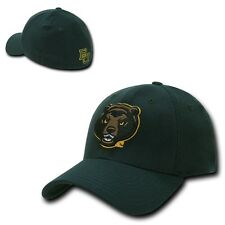 NCAA Baylor University Low Constructed Flex Acrylic Baseball Caps Hats Hunter