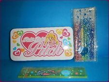 PICHI PICHI PITCH Mermaid Melody LUCIA NAKAYOSI A can case,Color pens ,Ruler