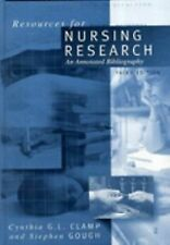 Resources for Nursing Research: An Annotated Bibliography