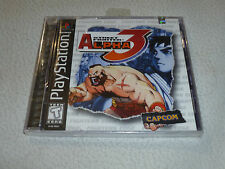 FACTORY SEALED PLAYSTATION PS1 GAME STREET FIGHTER ALPHA 3 BRAND NEW RARE CAPCOM