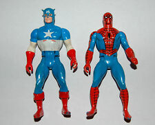 Secret Wars Capitan America & Spider-Man Action Figure TOYS Spiderman Marvel