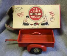 Vintage Carter Tru-Scale Machine Co. T-302 Trailer w/Box