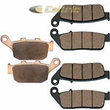 FRONT & REAR BRAKE PADS FITS TRIUMPH Tiger 800 800XC ABS 2011 2012 2013
