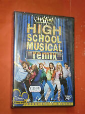 DVD FILM- HIGH SCHOOL MUSICAL-remix- CONTIENE 2 DVD- NUOVO SIGILLATO-WALT DISNEY