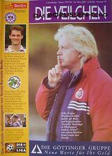 Programm 1999/00 Tennis Borussia Berlin - Greuther Fürth