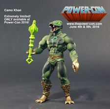 CAMO KHAN / Kobra Khan Power Con Exclusive MOTU Masters of the Universe Classics