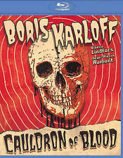 CAULDRON OF BLOOD (Aka Blind Man's Bluff) (Blu-ray) NEW! SEALED! Karloff Aumont