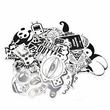 60Pcs Lot Skateboard Vinyl Sticker Skate Graffiti Laptop Luggage Car Bomb Decal