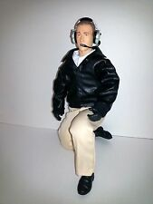 "1/4.5 ~ 1/4 Scale 15"" Tall Civilian RC Pilot Figure with Black Leather Jacket"