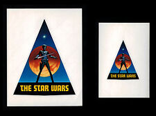 STAR WARS * 1976 PRE PRODUCTION EARLY LOGO DECAL STICKERS RALPH MCQUARRIE RARE!