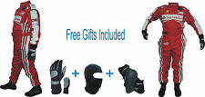 Ferrari Go Kart Race Suit CIK/FIA Level 2 (Free gifts Included)