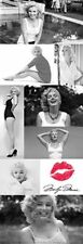 MARILYN MONROE - COLLAGE DOOR SIZE POSTER - 21X62 SEXY PINUP TILES 18632