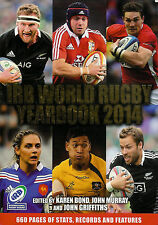 2014 International Rugby Board Yearbook includes 2013 British Lions & 6 Nations