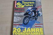 164885) Suzuki AN 400 Burgman vs Honda Silver Wing - Tourenfahrer 11/2001