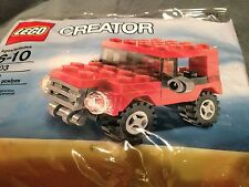 LEGO Creator Red Mini Jeep, NEW in Sealed Bagged #7803