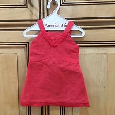 2010 American Girl Doll Lanie Butterfly Outfit Red Dress ONLY Retired