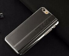 Black Recharging Phone Case With Cigarette Smoke Lighter Cover fr IPhone 5 5S SE