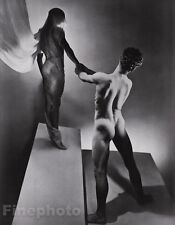 1936/81 Surreal 16x20 MALE NUDE Butt Greek Mythology Orpheus GEORGE PLATT LYNES