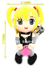 DEATH NOTE MISA AMANE PELUCHE GRANDE pupazzo plush ryuk doll elle anime light