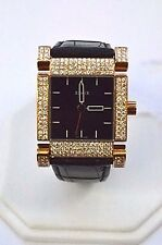 W552~ XEMEX AVENUE FULL DIAMOND CASE WATCH