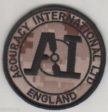 ACCURACY INTERNATIONAL subdued PATCH. MARPAT
