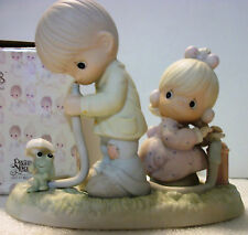 Precious Moments Figurine THERE SHALL BE SHOWERS OF BLESSINGS #522090 Porcelain