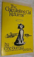 The Calculating Cat Returns by Eric Gurney (1978, Paperback, Illustrated)